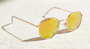 Urban Outfitters—Round Metal Sunglasses