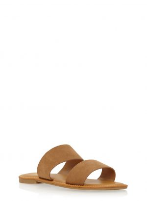 Slide Sandals with Double Straps