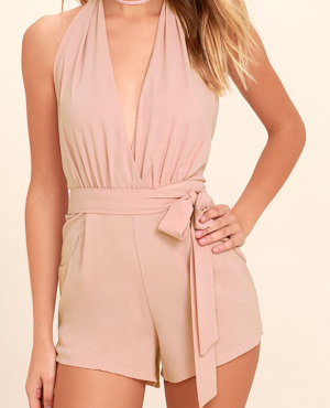 PLAYSUIT MY FANCY BLUSH PINK ROMPER