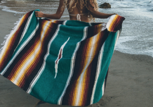 THE ORIGINAL // HANDWOVEN MEXICAN BLANKET