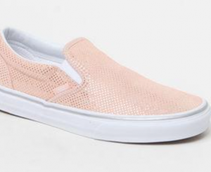 Vans Women's Metallic Dots Slip-On Sneakers