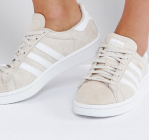 adidas Originals Campus Sneaker In Cream