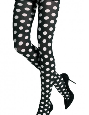 TWO TONED MEDIUM DOTS TIGHTS